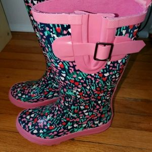 New Lined Rain boots